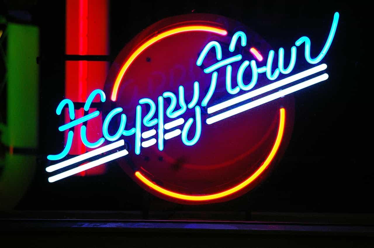 Como surgiu o happy hour