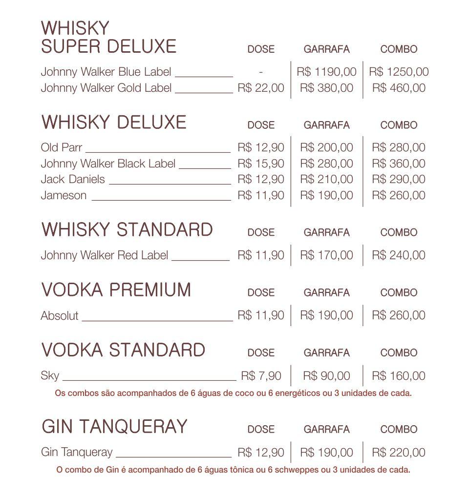 Bebidas especiais
